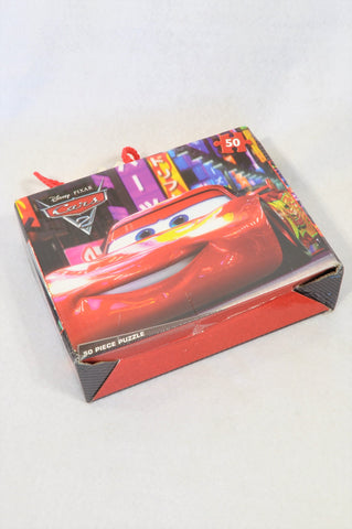 Disney 50 Pcs Cars 2 Puzzle Unisex 3-10 years