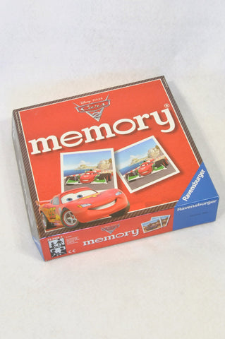 Disney Cars 72 Pc Memory Game Unisex 3-10 years