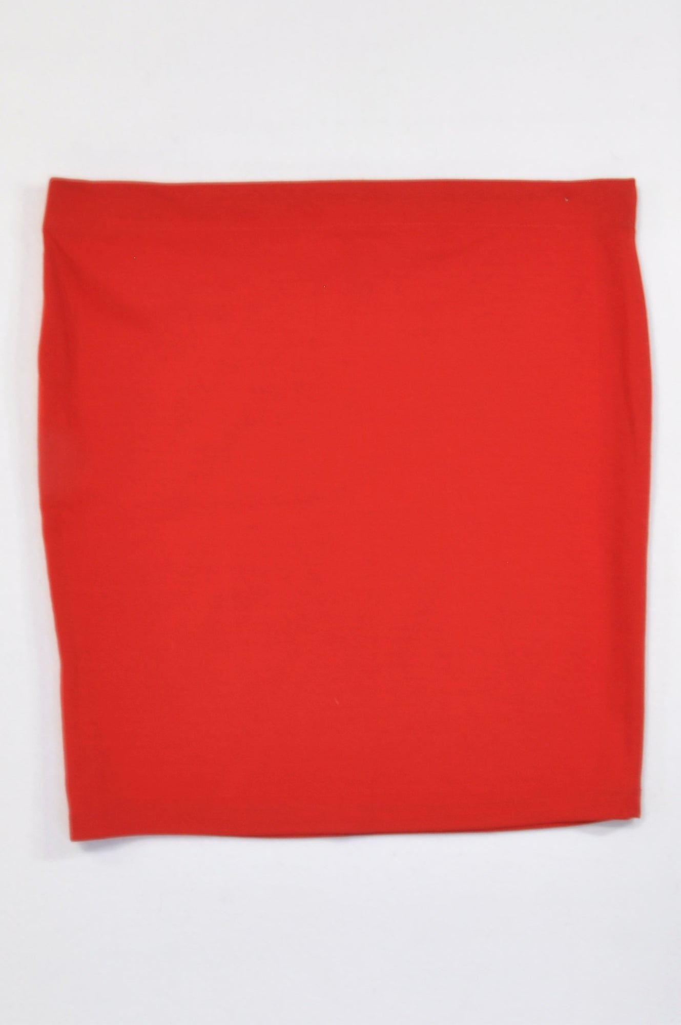 New Woolworths Basic Red Skirt Women Size M