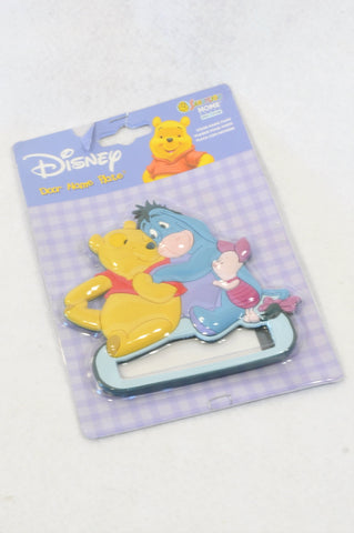 New Disney Pooh Bear Door Name Plate Decor Unisex N-B to 3 years