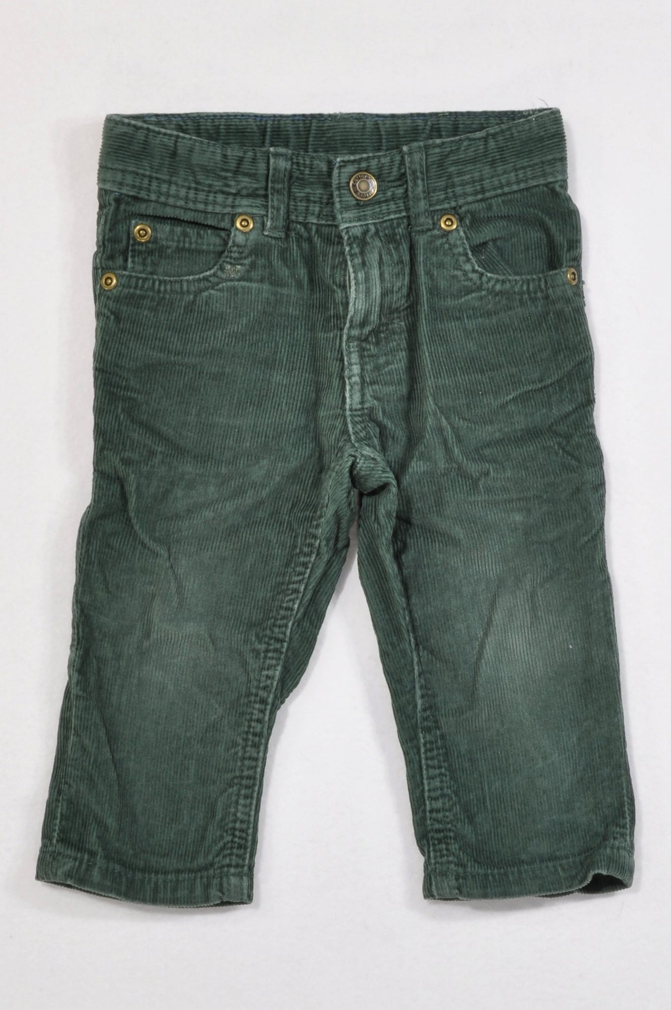 Carter's Basic Hunter Green Corduroy Pants Boys 6-12 months
