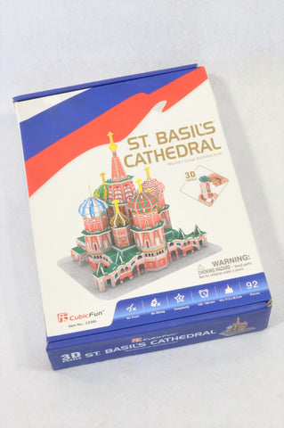 Cubic Fun 92 Piece St. Basil's Cathedral 3D Puzzle Unisex 7-14 years