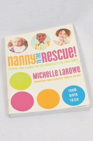 Unbranded Nanny To The Rescue Parenting Book Unisex N-B to 6 years