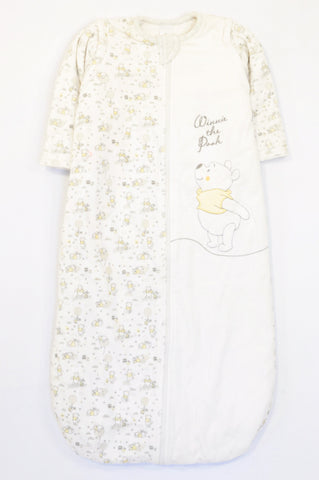 Disney White Padded Pooh Bear Winter Sleep Sack Unisex 6 months to 2 years