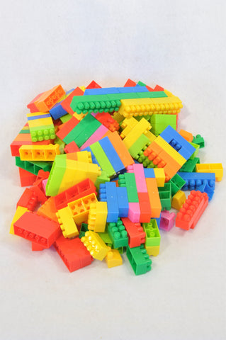 Unbranded 120 Pcs Medium Sized Lego Blocks Toy Unisex 2-6 years