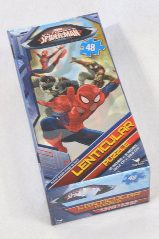 New Unbranded 48 Pcs Lenticular Spiderman Puzzle Boys 2-6 years