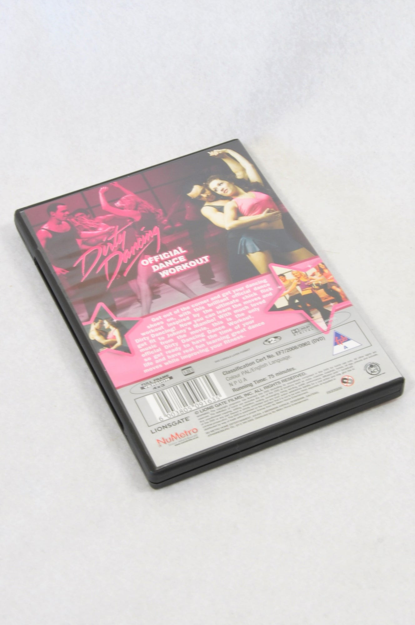 Unbranded Dirty Dancing Dance Workout DVD Women