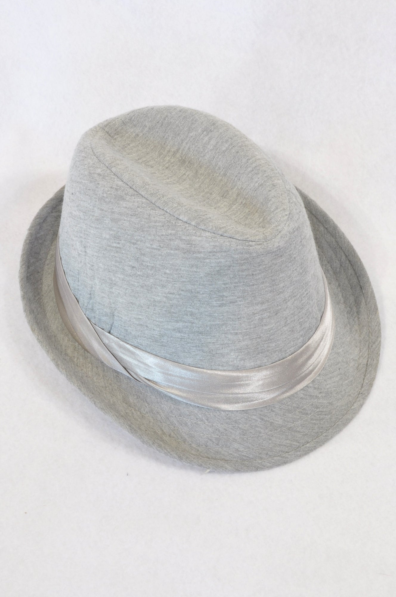 Rare Earth Heathered Grey Panama Hat Women One Size