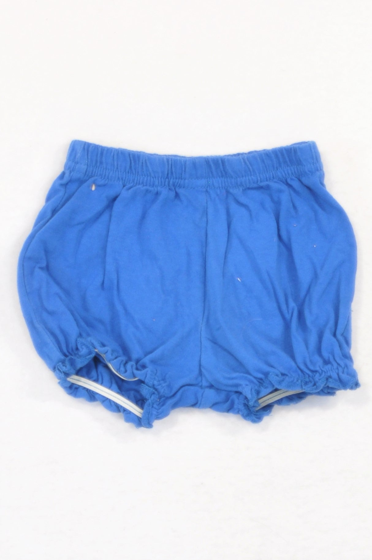 Jolly Tots Blue Ruffle Bloomers Girls 3-6 months