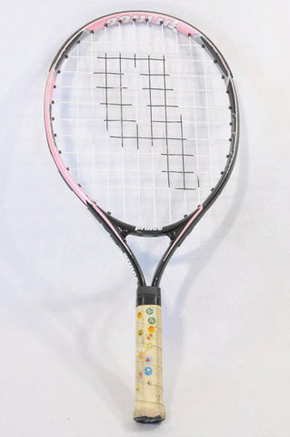 American Princess Black & Pink Tennis Racket Kids Accessory Girls 5-10 years