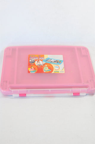 Formosa Pink Portable Storage Desk Kids Accessory Girls 3-10 years