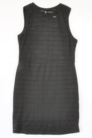 Mr. Price Black Lined Office Dress Women Size 6