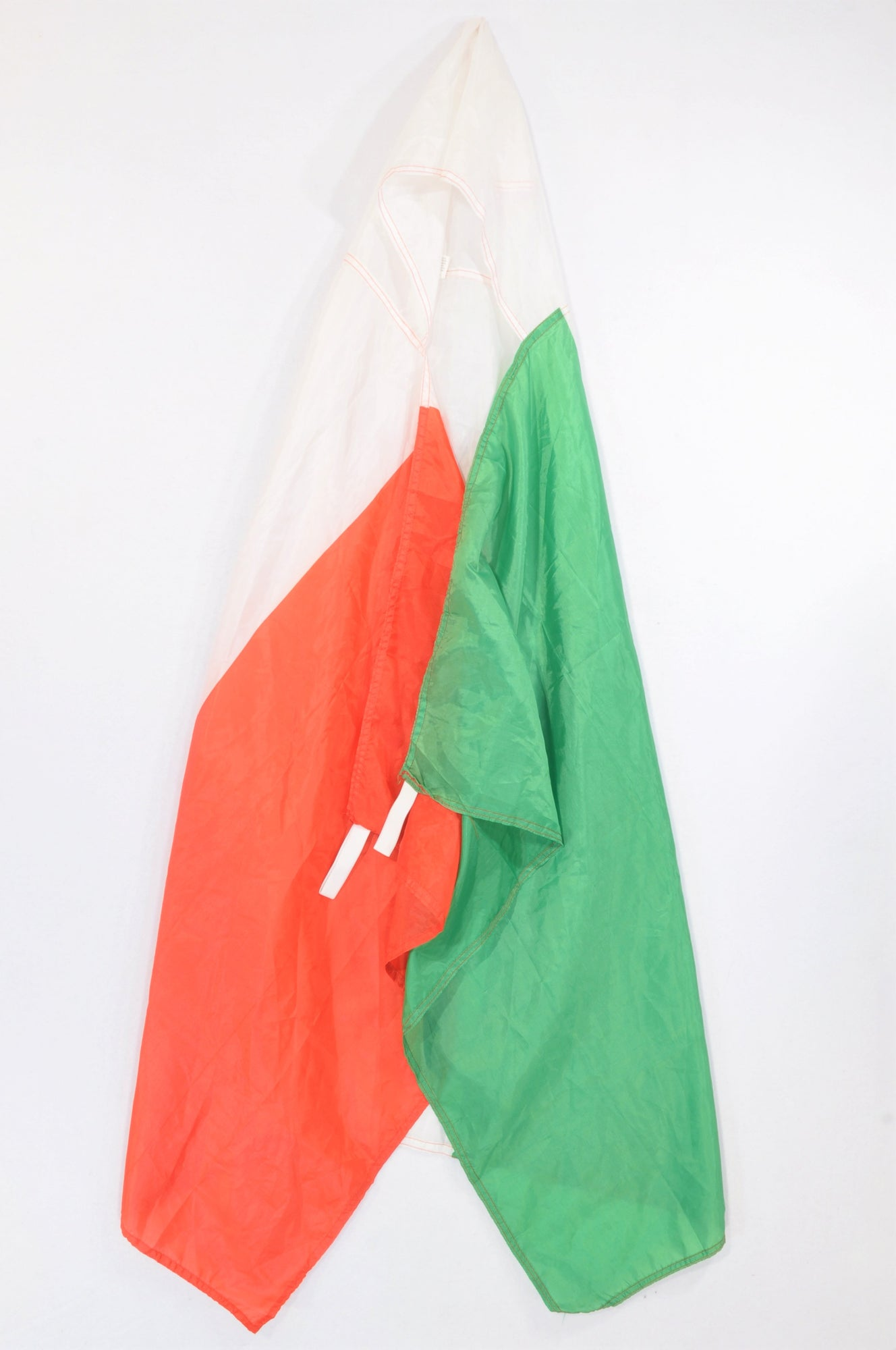 Unbranded Italian Hooded Flag Cape Dress up Unisex 7-14 years