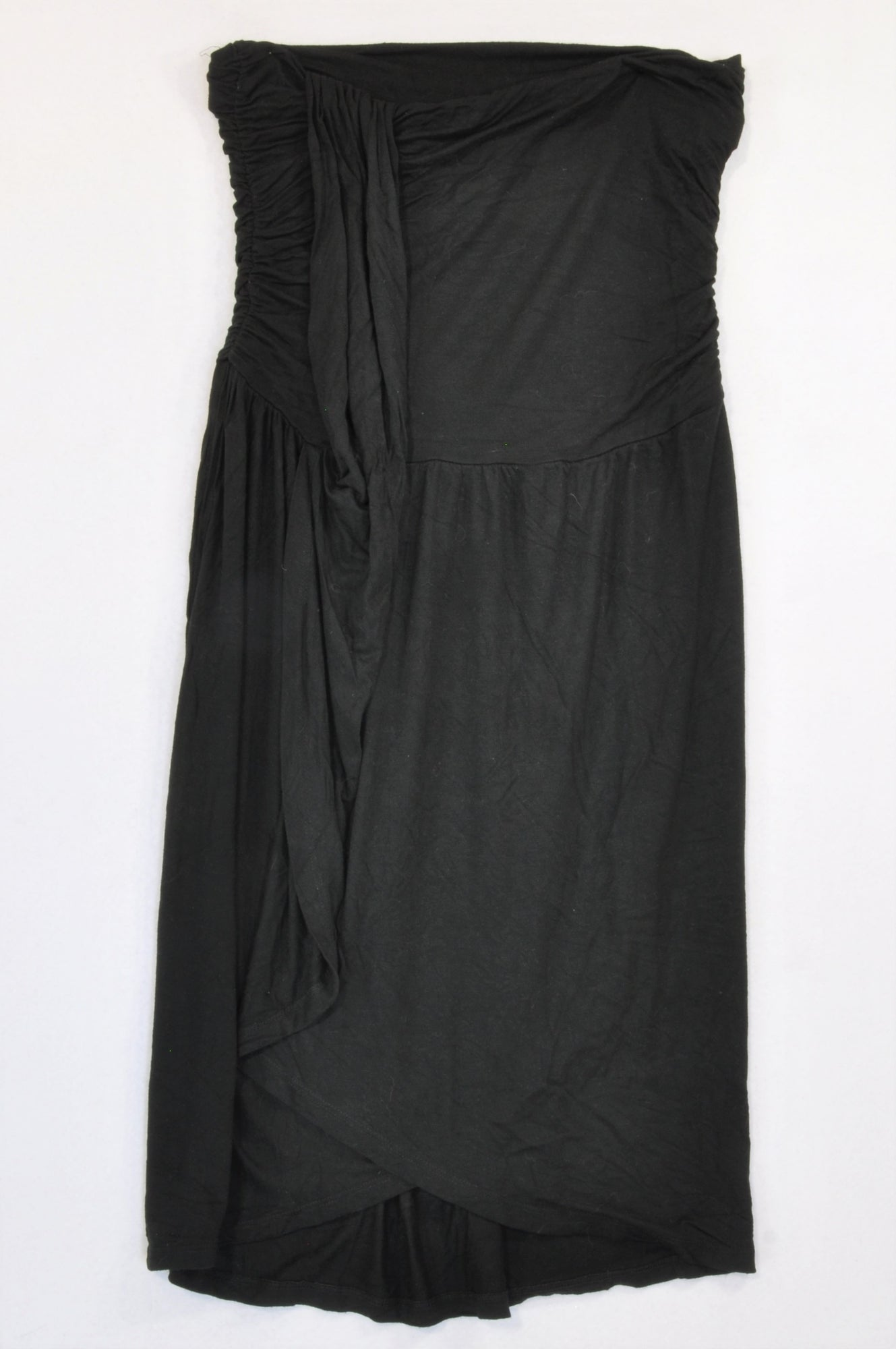 Woolworths Black Boobtube Cocktail Dress Women Size 10