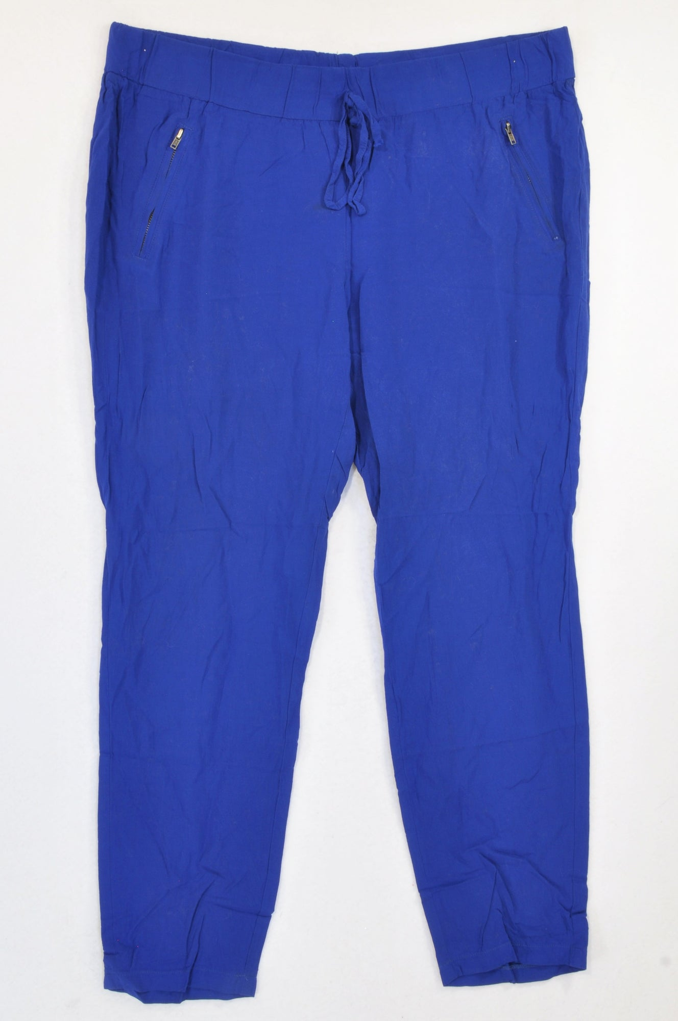 Unbranded Bright Blue Lightweight Pants Women Size 10