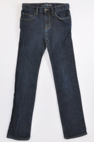 GAP Dark Denim Skinny Jeans Unisex 12-13 years