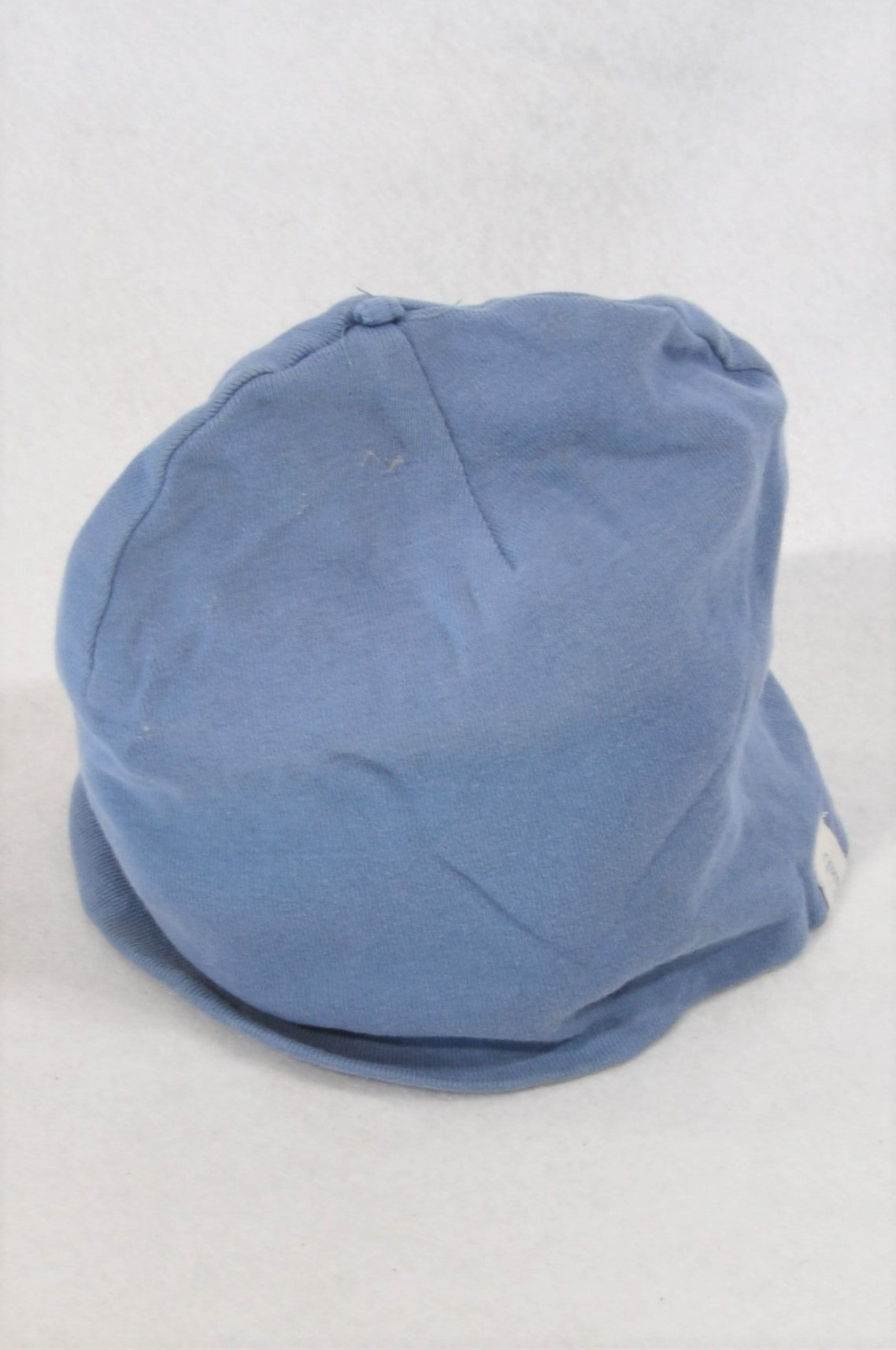 H&M Dusty Blue Organic Cotton Beanie Unisex 4-6 months