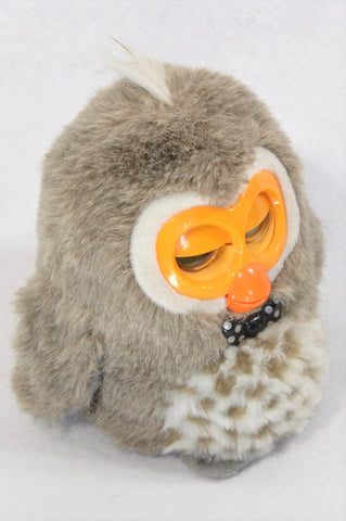 Hibo Owl Brown Talking Soft Toy Unisex 3+ years