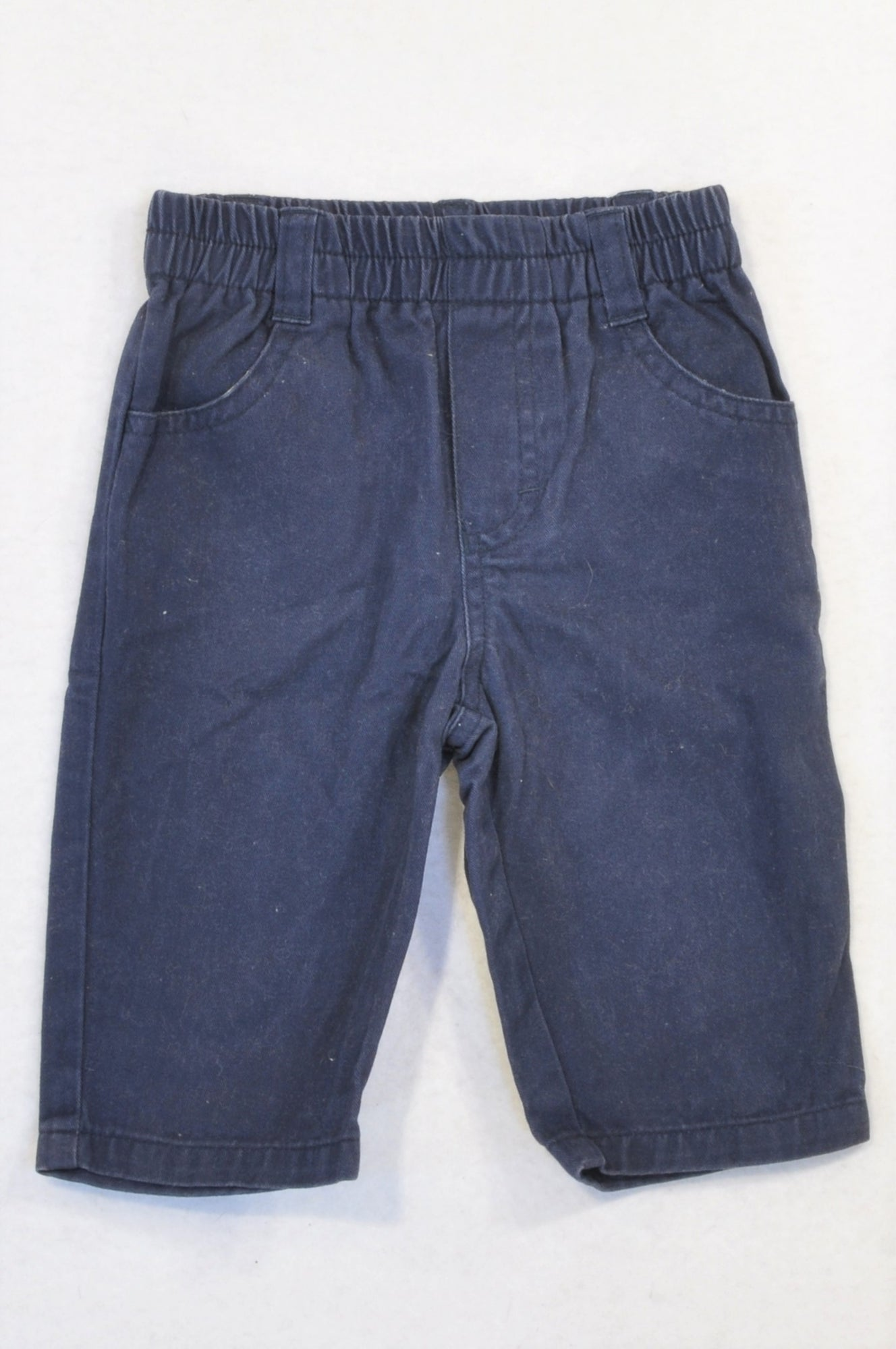 Baby Mac Basic Navy Chinos Boys 3-6 months