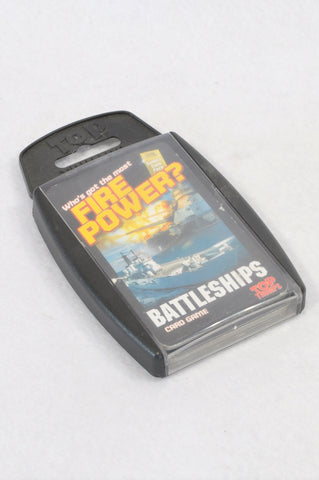 Top Trumps Battleships Cool Cards 2 Card Game Unisex 5+ years