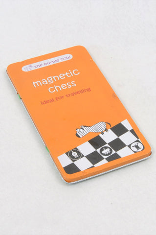 The Purple Cow Magnetic Chess Game Unisex 5+ years