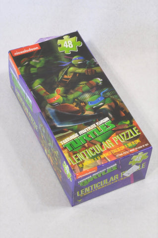 Nickelodeon 48 Pcs Ninja Turtles Lenticular Puzzles Unisex 5+ years