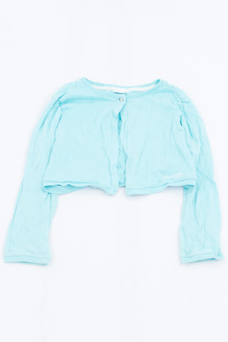 Naartjie Basic Aqua Light Knit Cardigan Girls 8-9 years