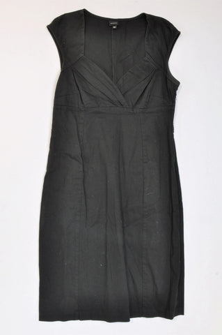 Foschini Black Cross Neckline Dress Women Size 38