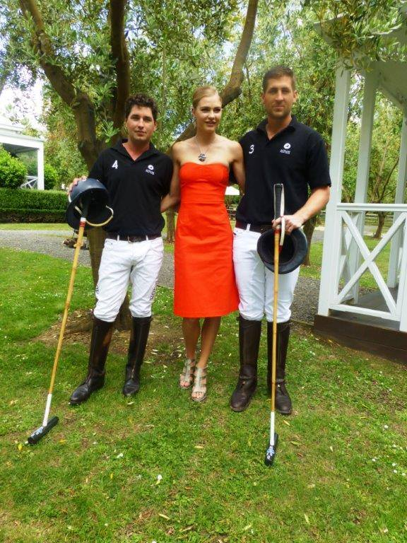 Orsini jewellery at the Polo- Bracu in Auckland