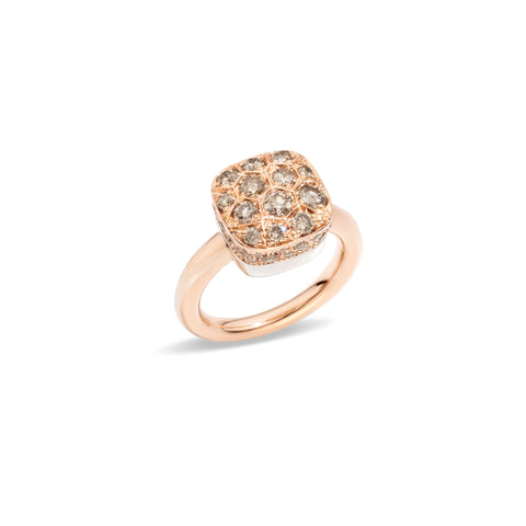 Nudo diamond ring
