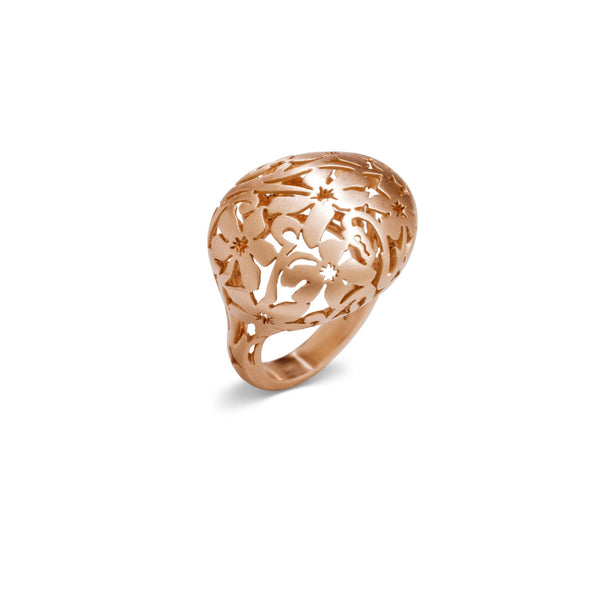 Arabesque 18k gold ring