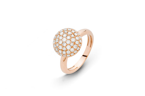 Boeli Boeli Ring in 18k Rose Gold with Diamonds