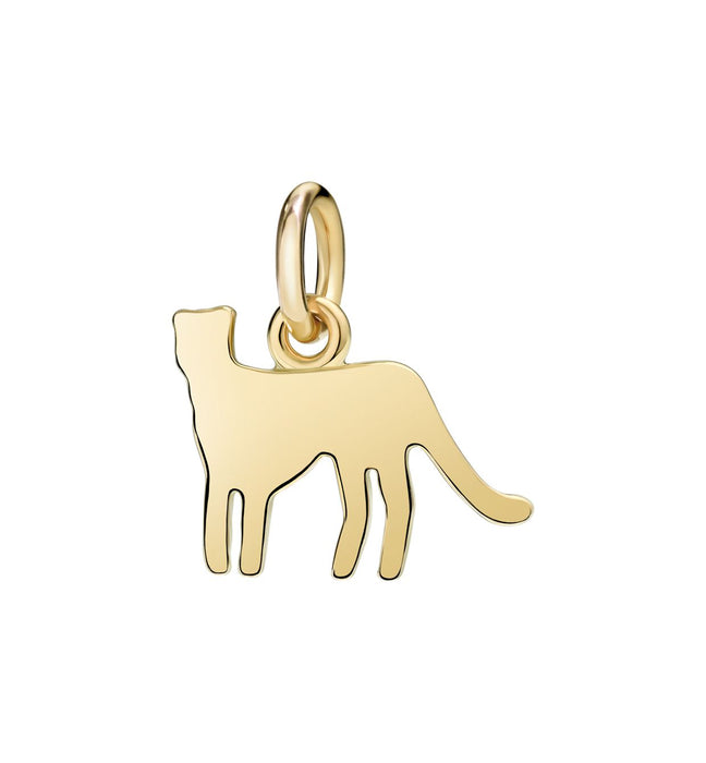 Dodo Panther Charm 18k yellow gold
