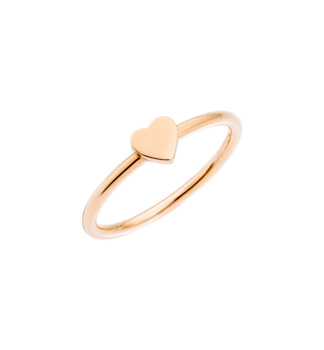 DoDo Heart Ring in 9k Rose Gold
