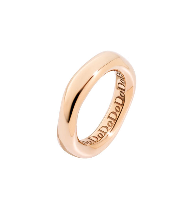 Dodo Irregular Ring in 9k Rose Gold