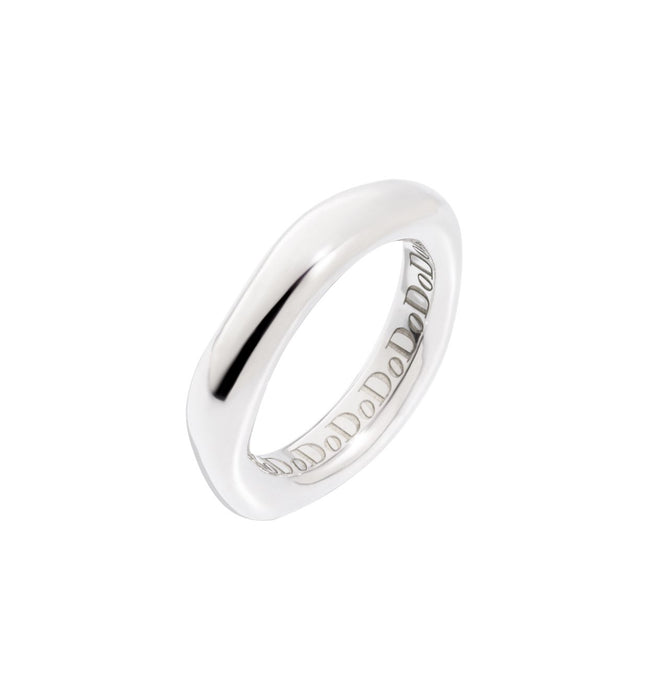 Dodo Irregular Ring in Silver
