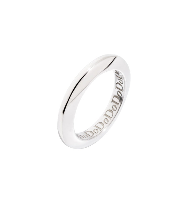 DoDo Disc Ring in Silver