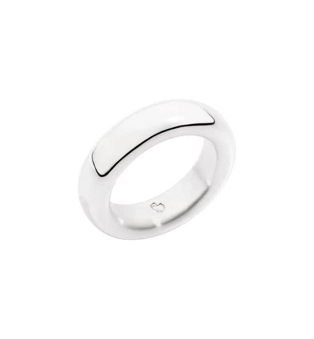 Dodo Band Ring in Silver