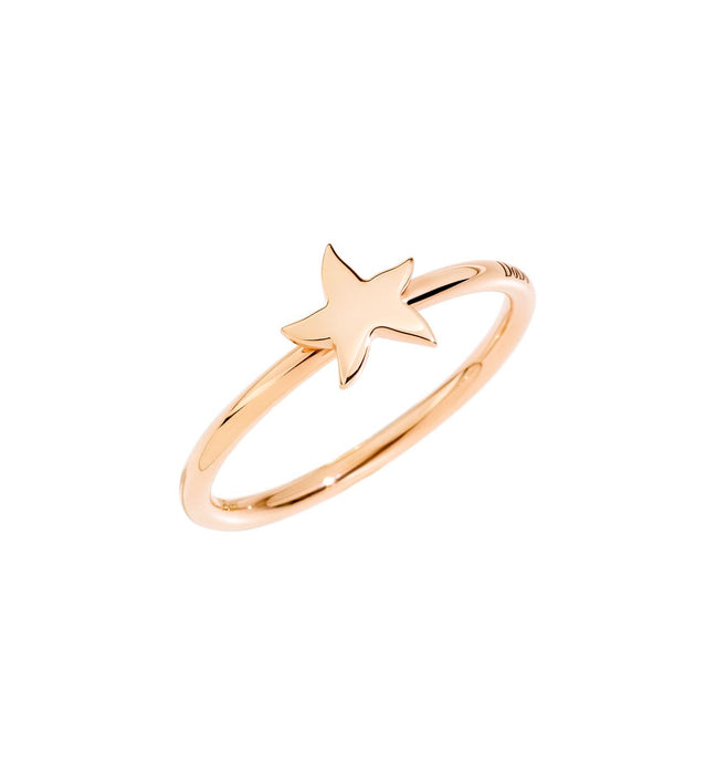 DoDo Star Ring in 9k Rose Gold
