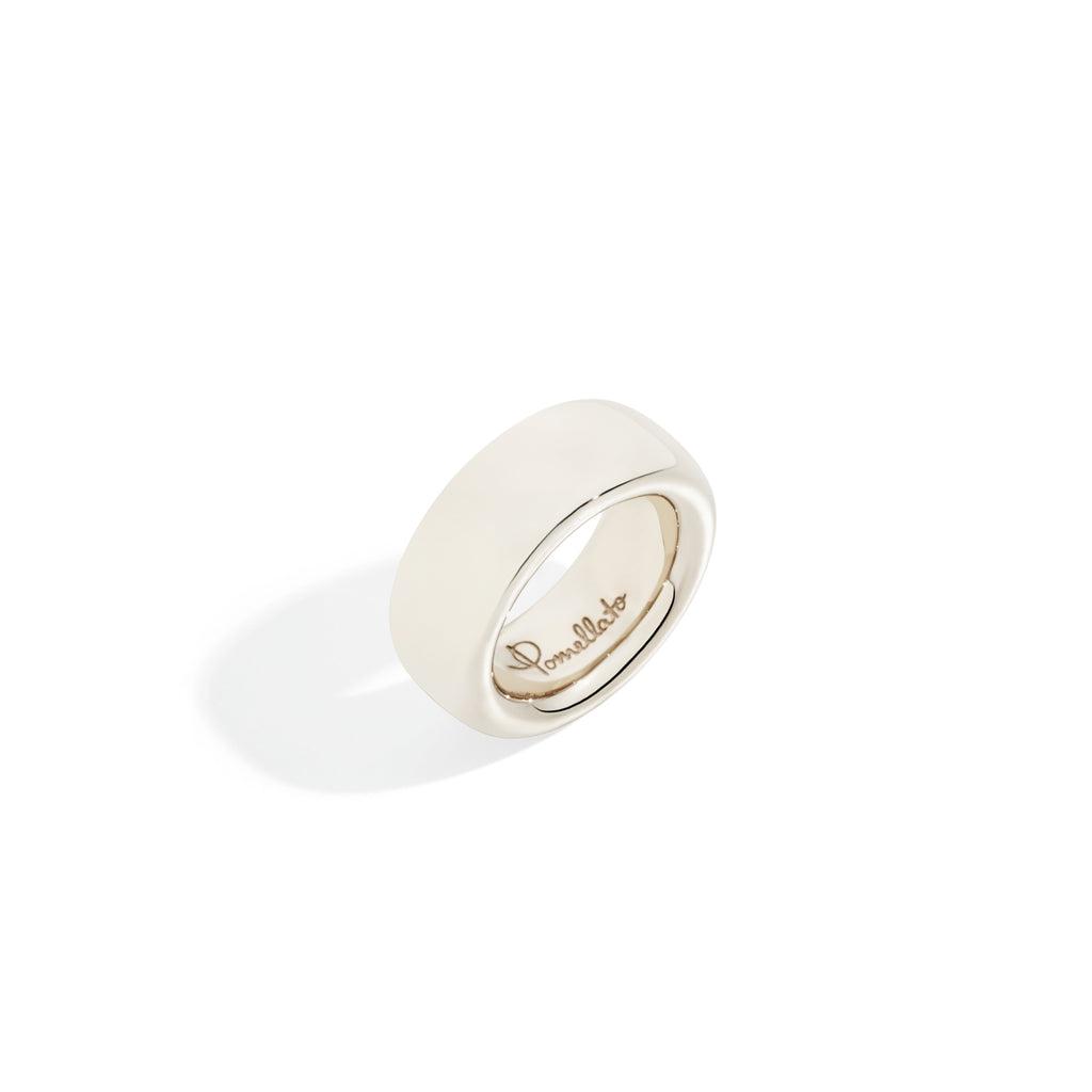 Iconica White Gold Ring