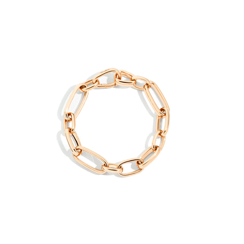Iconica Slim Bracelet in 18k Rose Gold
