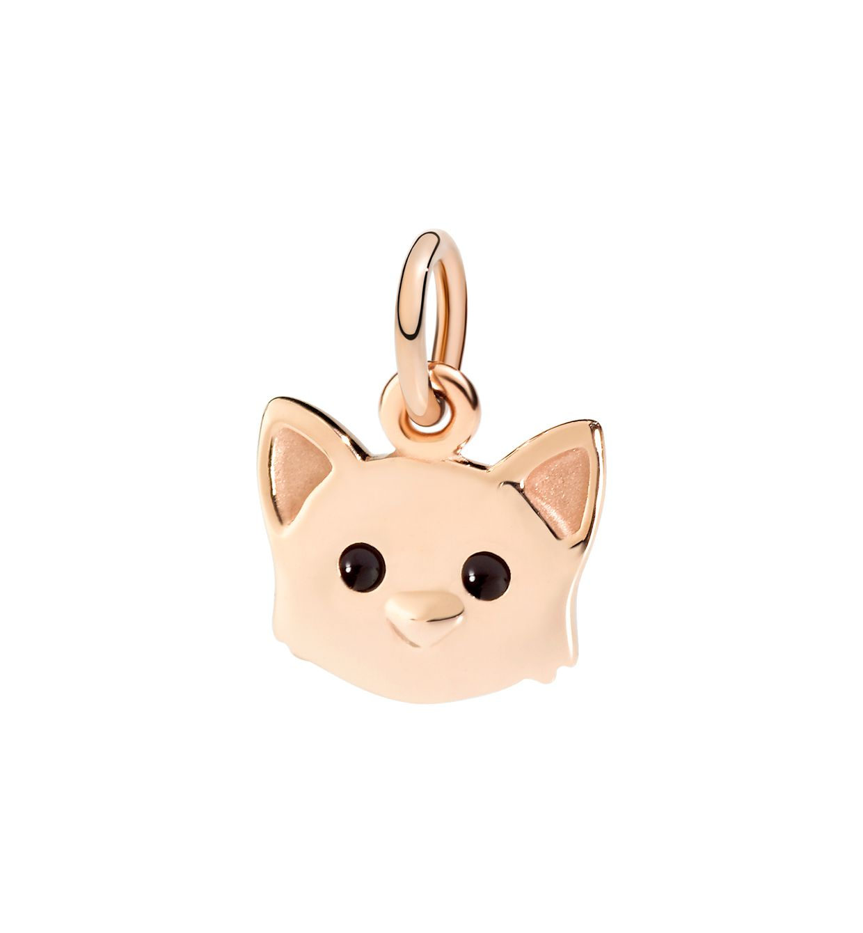 DoDo Cat in 9kt Rose Gold with Enamel - Orsini Jewellers NZ