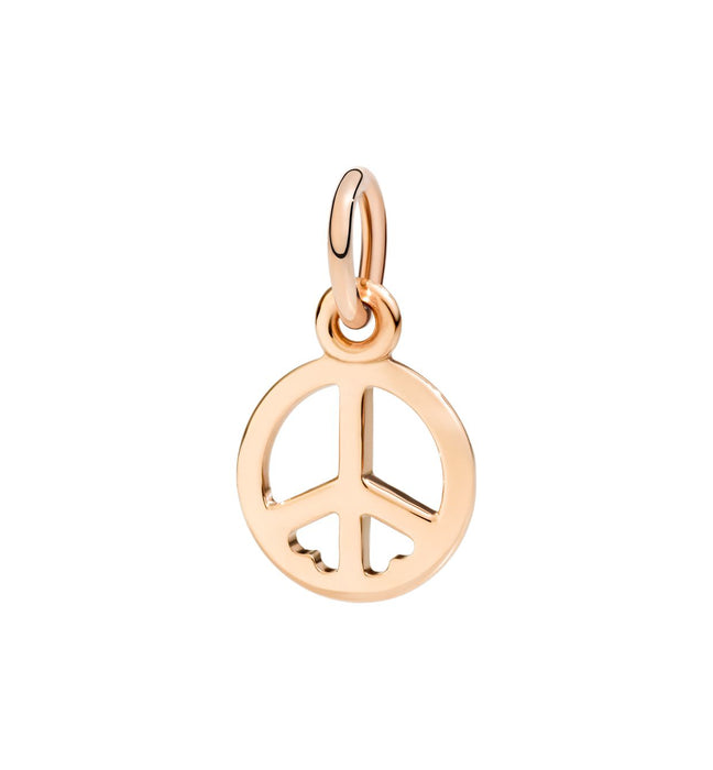 DoDo Peace Symbol in 9k Rose Gold