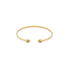 GG Running Cuff in 18kt Yellow Gold