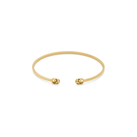 GG Running Bangle Bracelet in 18kt Yellow Gold
