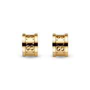 Icon Stud Earrings in 18k Yellow Gold