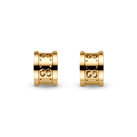 Icon Twirl 18kt Yellow gold earrings