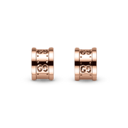 Icon Stud Earrings in 18k Pink Gold