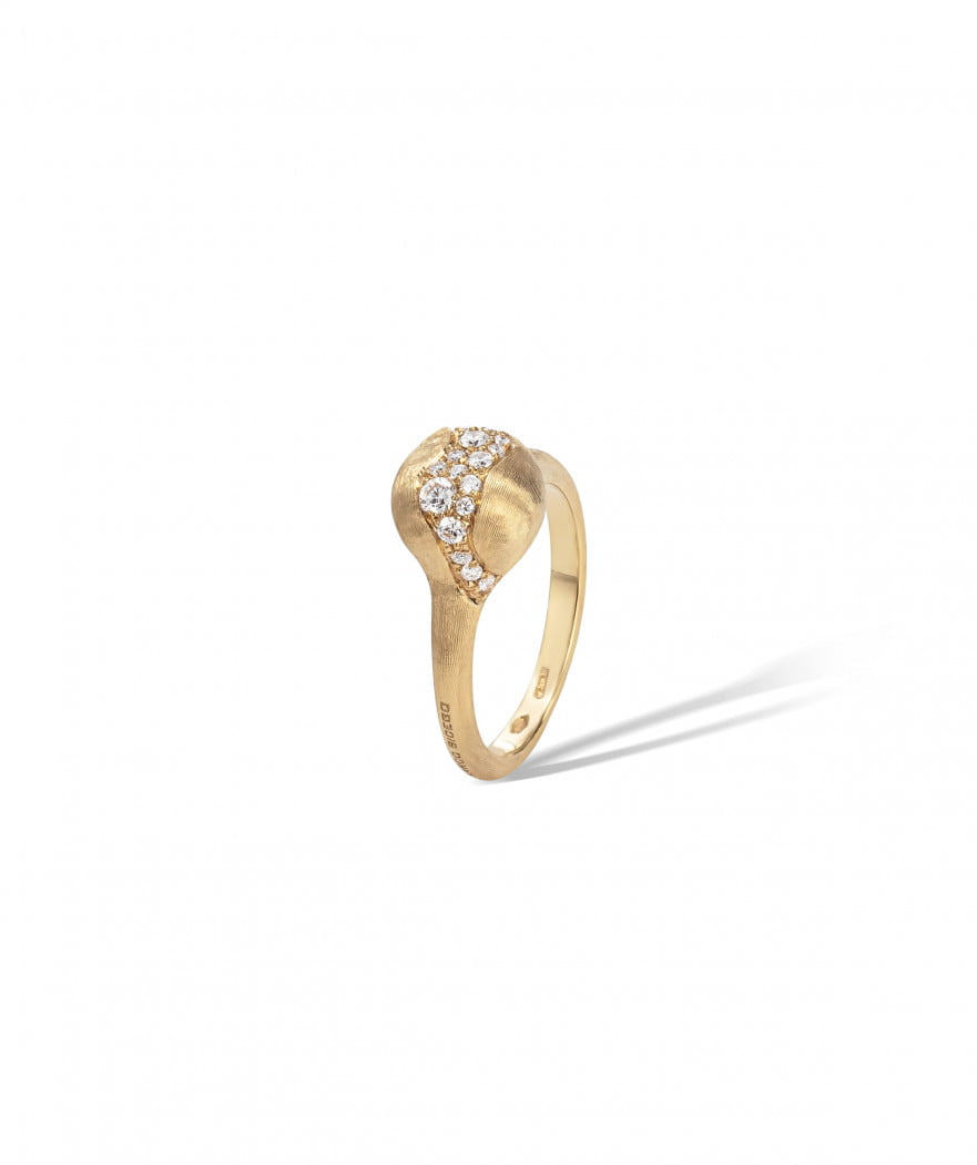 Africa Constellation Ring in 18k Yellow Gold with Diamonds Small - Orsini Jewellers NZ