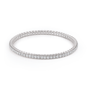 Al Coro Stretchy Tennis Bracelet with 66 Diamonds